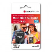 Agfa micro SD m/SD adapter 8GB
