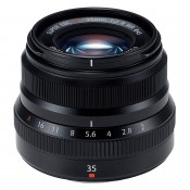 Fujinon XF 35mm f/2.0 WR sort