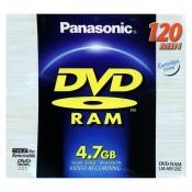 Panasonic 4,7 GB DVD Ram Disc 1 stk.