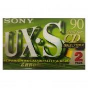 Sony Tape Cassette HPC II UX-S Crome 90 min. 2 pack