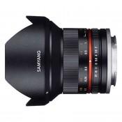 Samyang 12mm f/2,0 (APS C) Canon M Sort